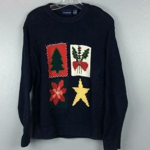 Liz Claiborne Ladies Heavy Cotton Winter Sweater M
